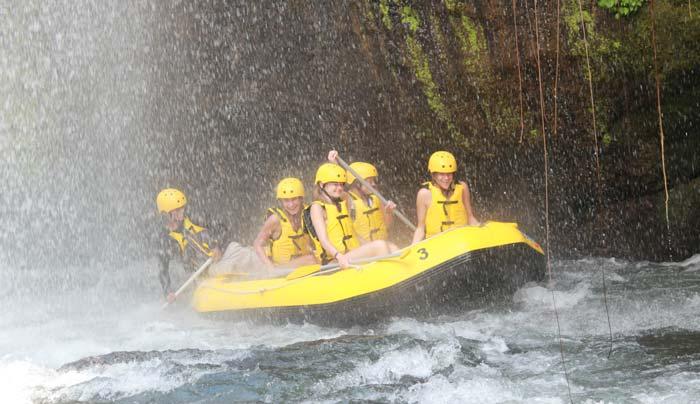 Alam Rafting Telaga Waja