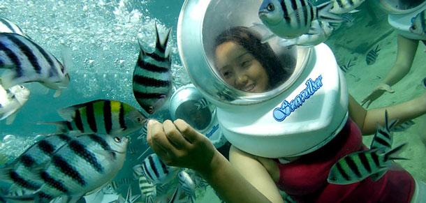 Bali Seawalker Bali Nadipa Tour