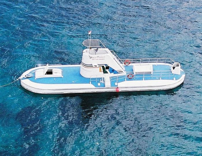 Bali Hai Reef Cruise Semi Sub
