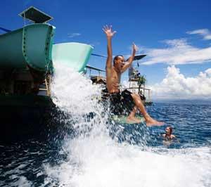 water slide bali hai cruises