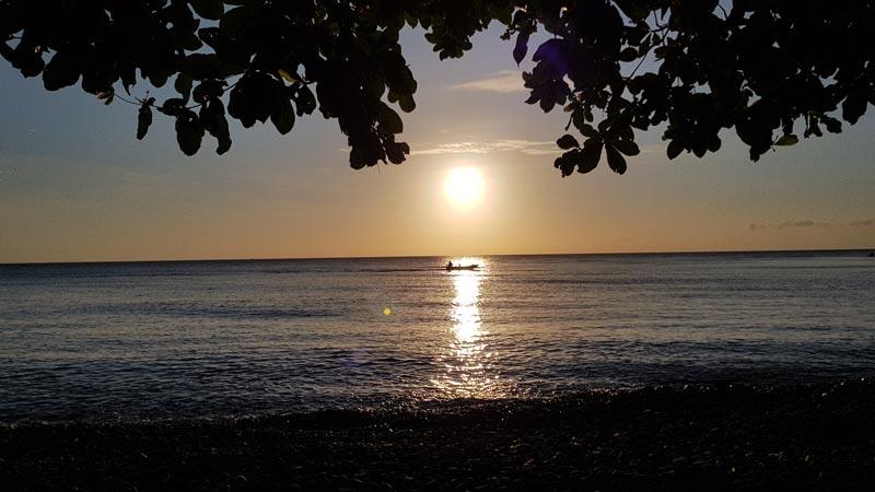 East Bali Beach Sunrise