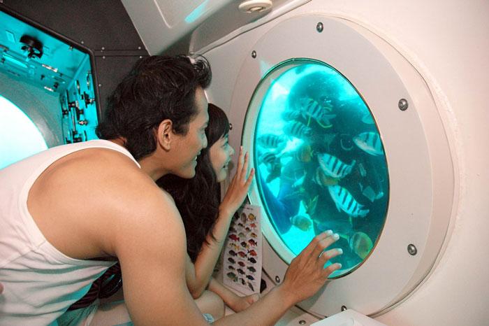 bali underwater tour
