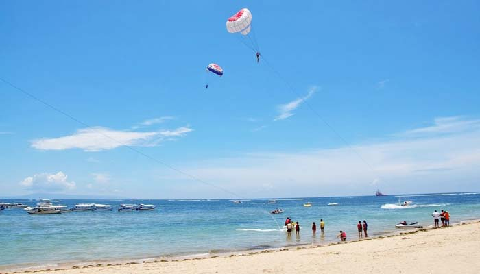 Top 5 Amazing Attraction Tanjung Benoa Beach