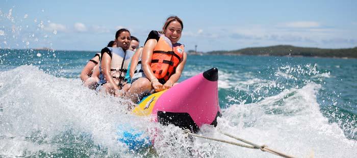 banana boat tanjung genoa beach bali