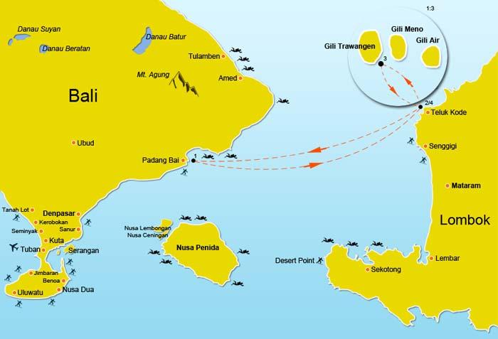 Padang Bai Harbor Best Way From Bali To Gili Trawangan