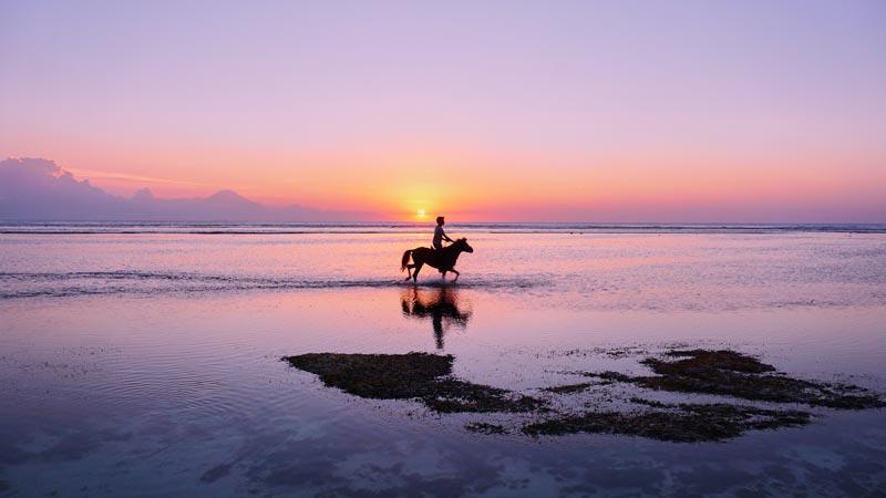 Sunset Gili Trawangan Island