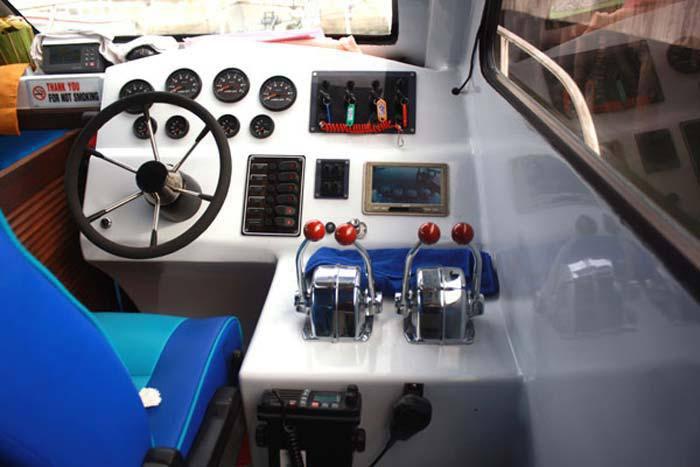 control room wahana fast boat