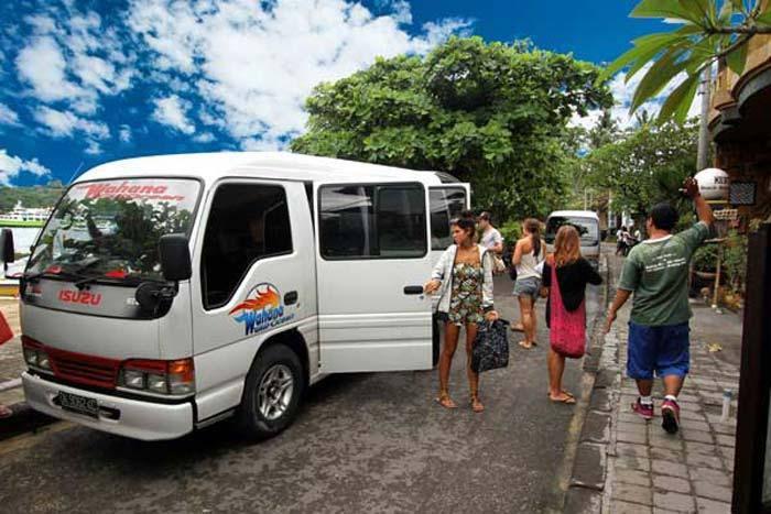 shuttle services wahana fast boat