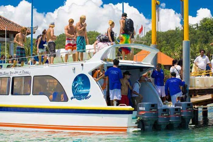 wahana gili fast boat load bali