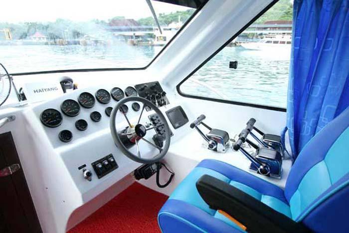 wahana gili ocean captain seat