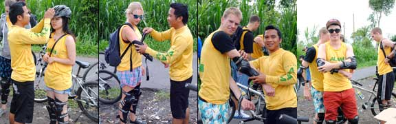Preparation Bali Bike Tour Kintamani