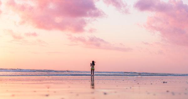 Kuta Bali Sunset View