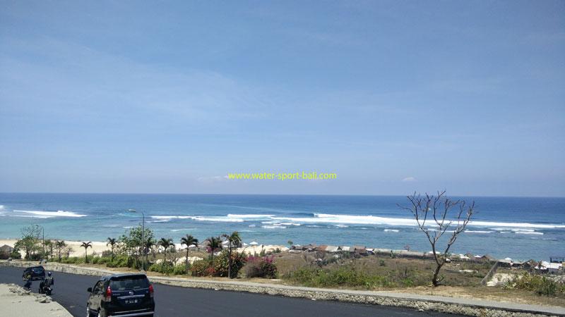 The Indian Ocean Beauty View From Pandawa Beach Bali
