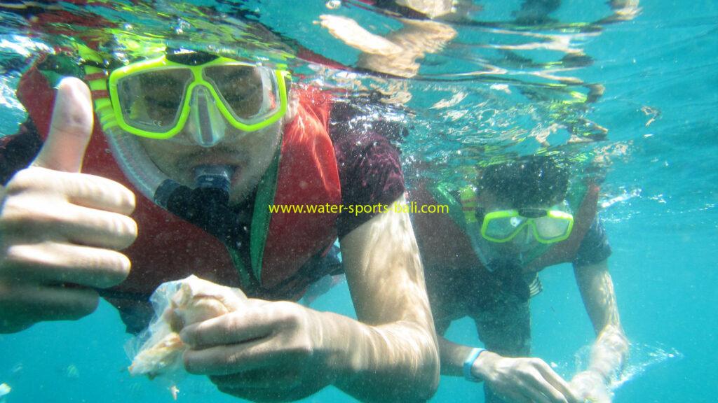 Bali Snorkeling Marine Activity For Beginner Tanjung Benoa Beach