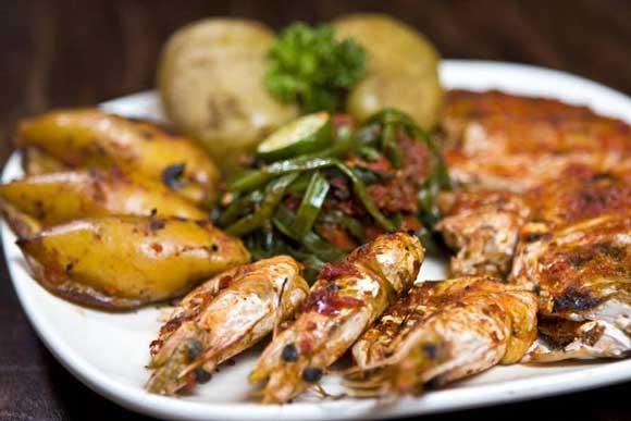 Jimbaran Beach Bali Seafood Barbecue