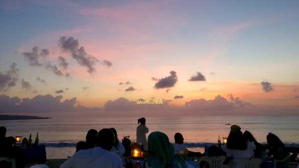 Jimbaran Beautiful Sunset View