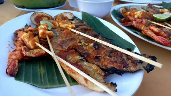 Jimbaran Beach Seafood Barbecue