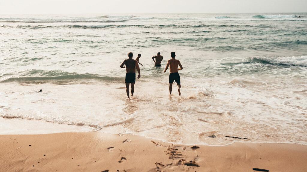 Suluban Beach Uluwatu Shoreline View