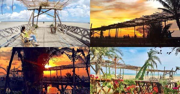 Wooden Bridge Kayu Putih Beach Bali
