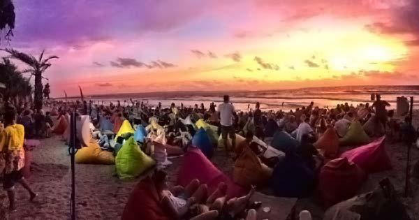 Mesari Beach Sunset Seminyak