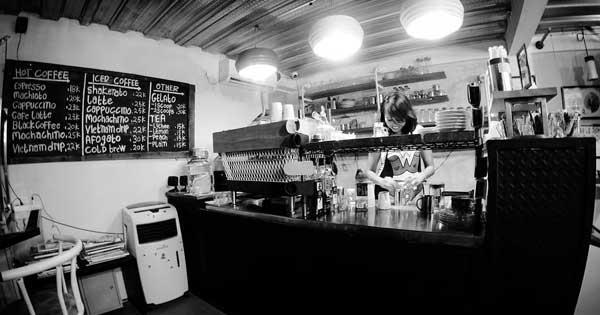 Foam Coffee Shop Renon Denpasar