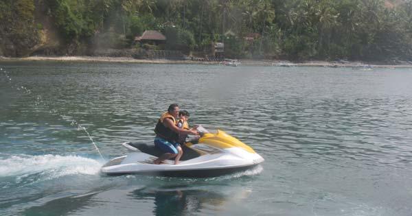 Bali Jet Ski Ride For Kids