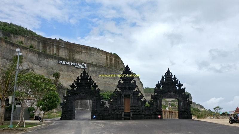 Main Gate Melasti Beach Ungasan Bali
