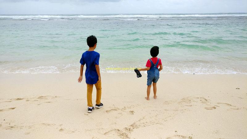 Melasti Beach Ungasan Main Point Of Interest