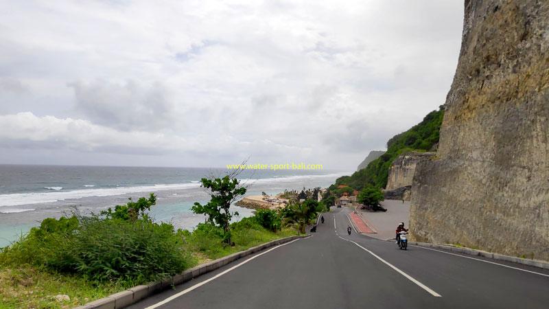 The Road To Melasti Beach Ungasan