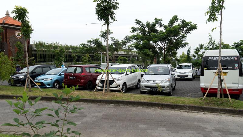 Monkey Forest Vehicle Parking Area