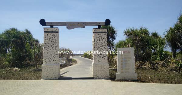 Bali Water Blow Entrance Gate