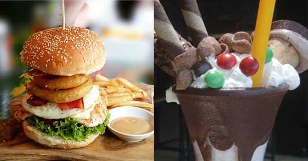 Wacko Burger Cafe Seminyak Menu