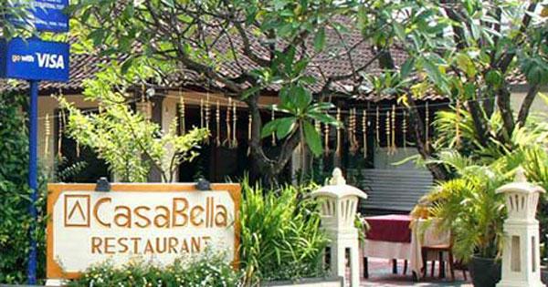 Casa Bella Restaurant Bali