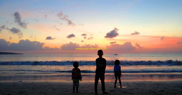 Jimbaran Bali Sunset View