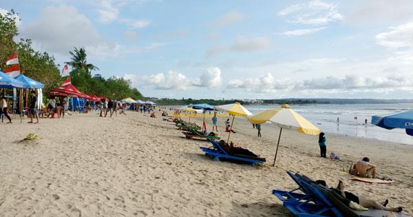 Kuta White Sand Beach