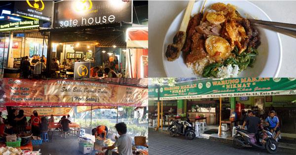Varieties Dining Places In Kuta Bali