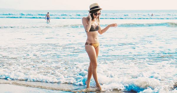 Walk On Kuta Beach Bali