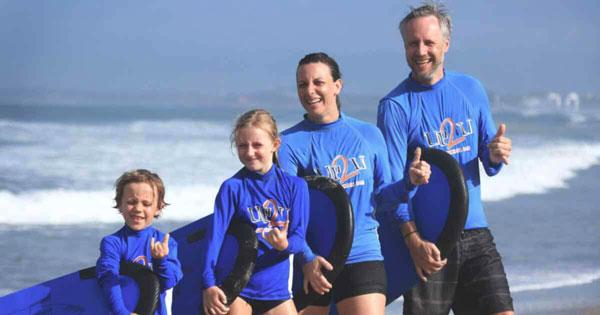 Surfing Lesson For Children Legian