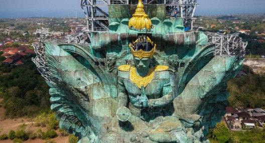 Garuda Wisnu Kencana Statue Bali