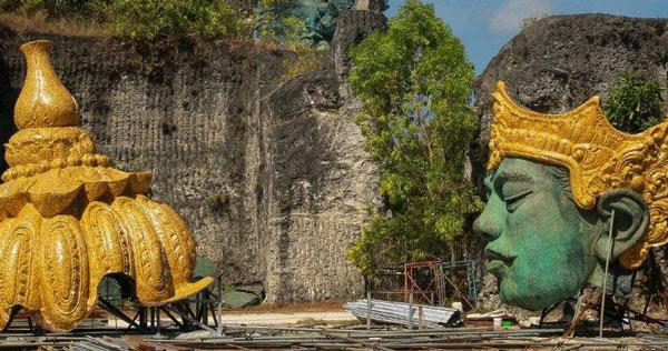 The Making Of GWK Statue Bali