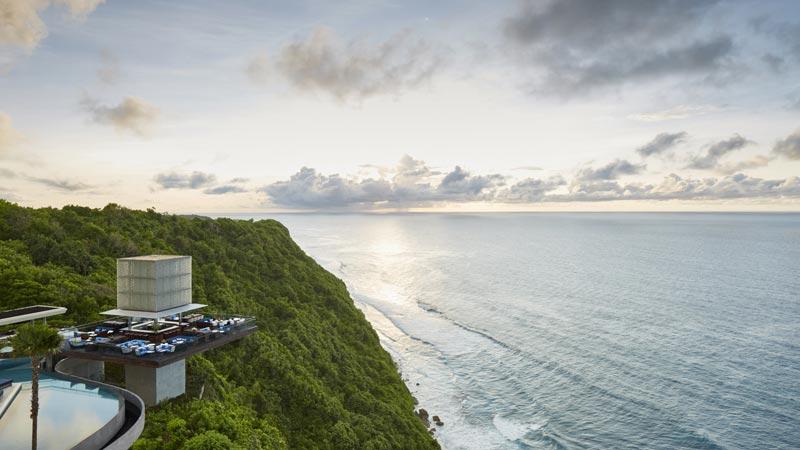 View of the Indian Ocean From Omnia Bali Uluwatu