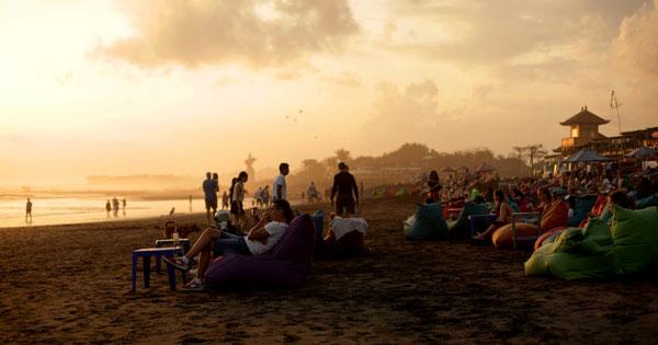 Batubelig Beach Sunset