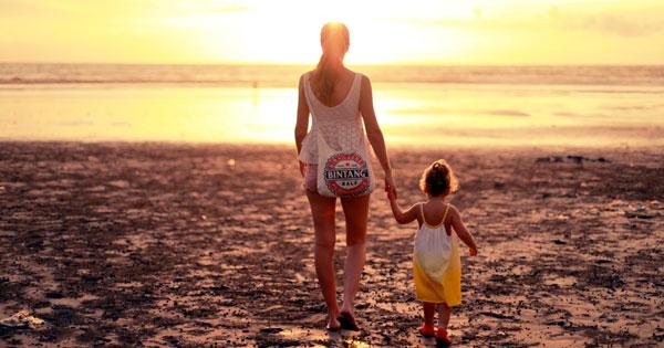 Beach Holidays in Bali with Children
