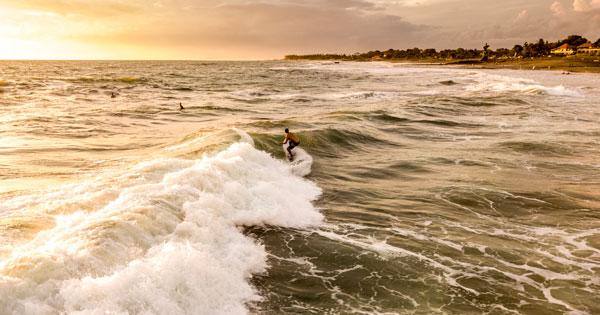 Canggu Bali Beach Wave