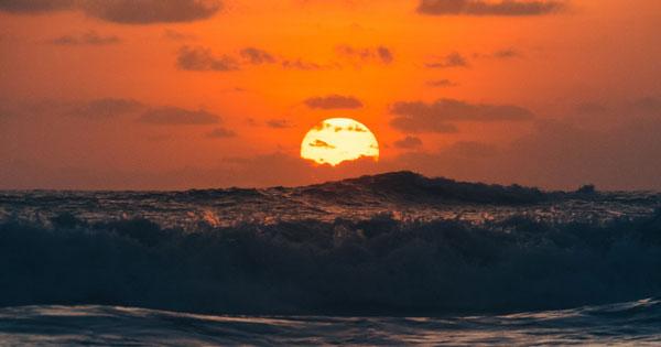 Batu Bolong Canggu Sunset