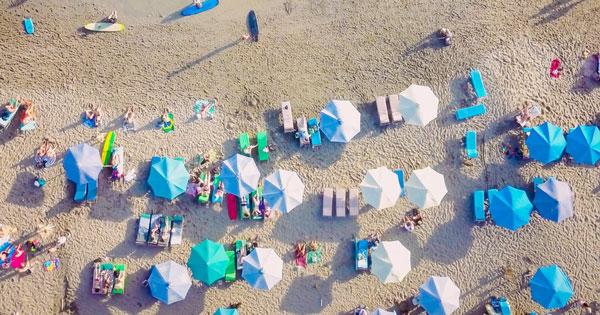 The attractiveness of Canggu's Batu Bolong Beach