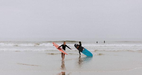 Tourist Activities On Bali Beach