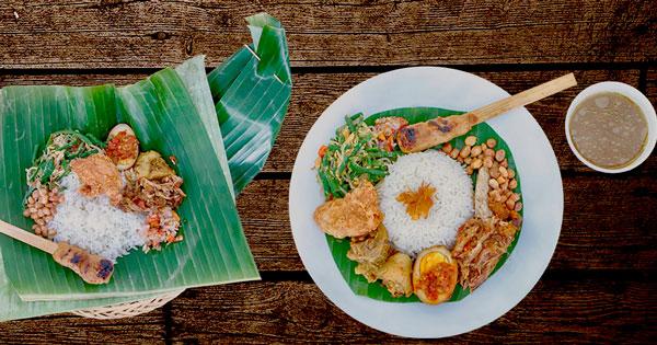 Bali Tempoe Doeloe Rice Menu