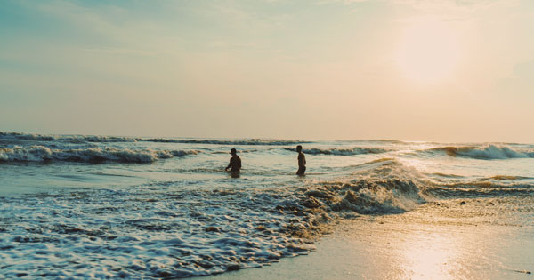 Balian Beach Bali Attraction
