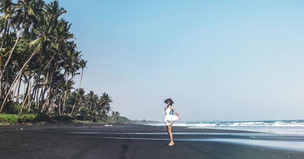 Balian Beach in Tabanan Location